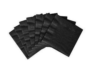 Jet Black Luncheon Napkin - 50 Pack