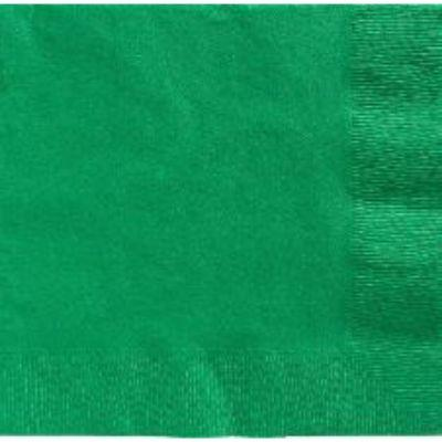 Festive Green Luncheon Napkin - 50 Pack