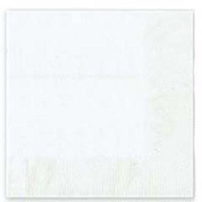 Frosty White Luncheon Napkin - 50 Pack
