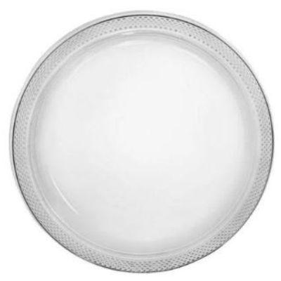 Clear Plastic Dinner Plates 10
