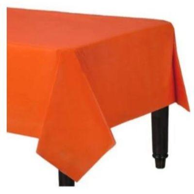Orange Peel Plastic Tablecover 54