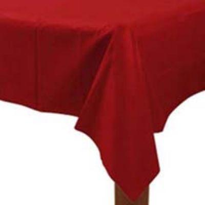 Apple Red Plastic Tablecover 54