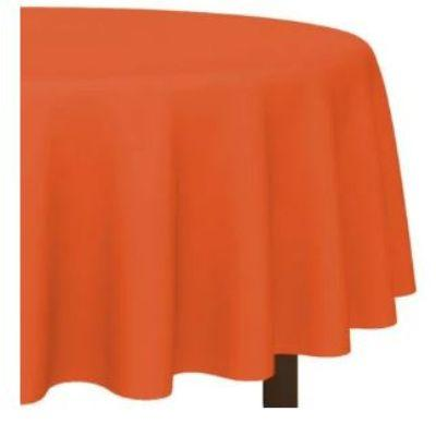 Orange Peel Round Plastic Tablecover 84