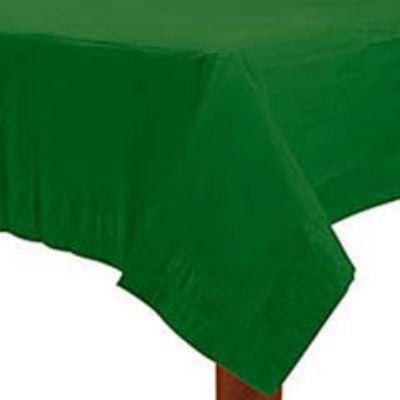 Festive Green Paper Tablecover 84