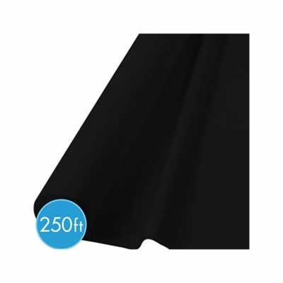(Curbside Pick-Up Only) Jet Black Tablecover Roll 250'