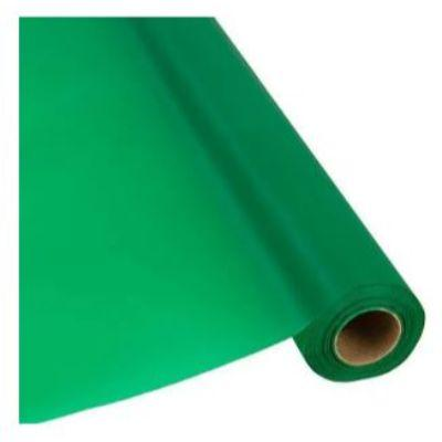 In-Store Only - Festive Green Plastic Tableware Roll 250