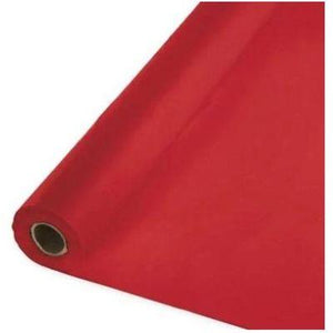 "In-Store Only - Red Plastic Tableroll 40"" x 100'"