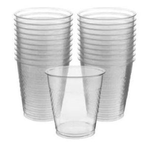 Clear Plastic Cups 12 oz. - 20 Pack