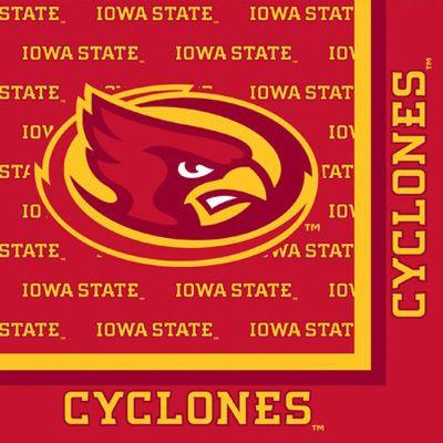 Iowa State Cyclones Lunch Napkin