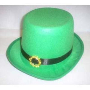 St. Patrick's Green Top Hat With Buckle