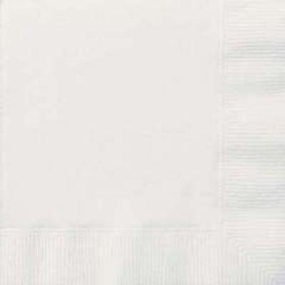 Bright White Luncheon Napkin 20 Pack