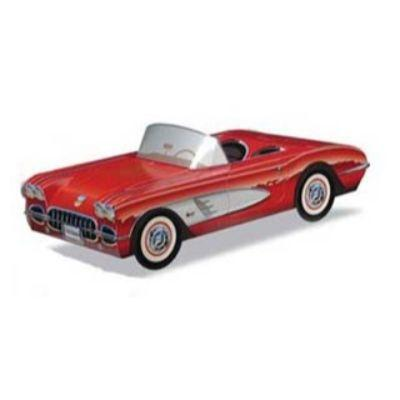 Classic '58 Chevy Corvette Food Container
