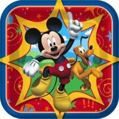 Mickey Mouse Clubhouse Dessert Plates