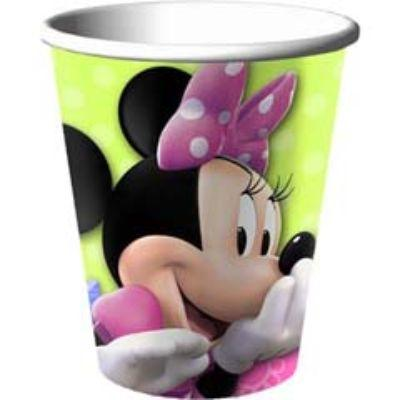 MINNIE MOUSE CUP 9OZ PK8