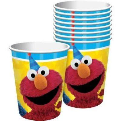 Sesame Street Cups 9oz. - 8 Pack