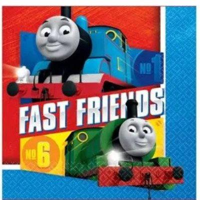 Thomas the tank engine luncheon napkins - 16 Pack