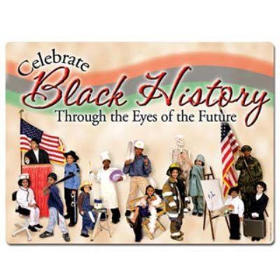 Celebrate Black History Cutout Sign 18