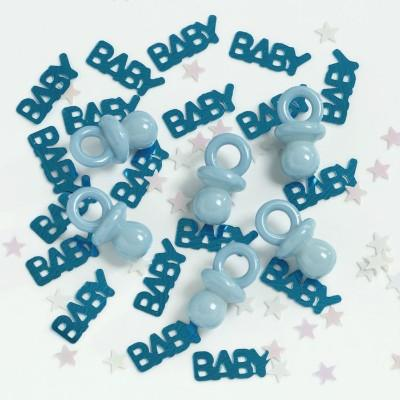 It's a Boy & Pacifier Confetti