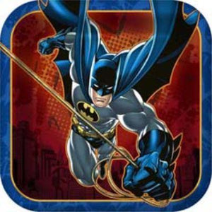 BATMAN PLATE DS SQ PK8