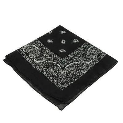 Black Single Bandanna