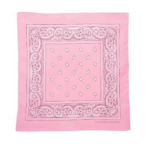 Light Pink Single Bandanna