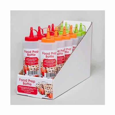 Food Prep Squeeze Bottle 12 oz.