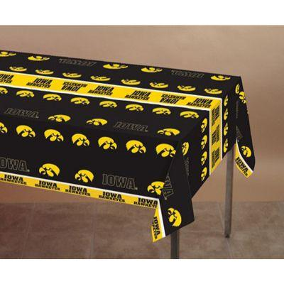 Iowa Hawkeyes Plastic Table Cover