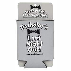 Bachelor's Last Night Out Can Koozie