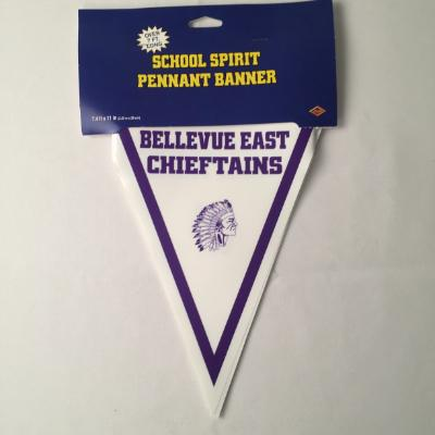 Bellevue East Chieftains Pennant Banner 10'