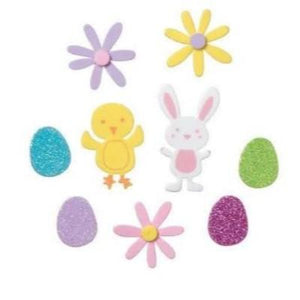 Easter Foamies Sticker Set Assorted