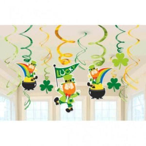 St. Patrick's Day Swirl Decorations