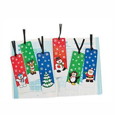 Christmas Activity Bookmarks - 12 Pack