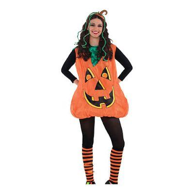 Stuffed Pumpkin Adult Costume