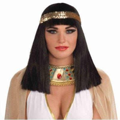 Egyptian Queen Black Wig