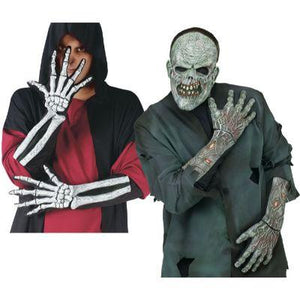 Skeleton/Zombie Gloves