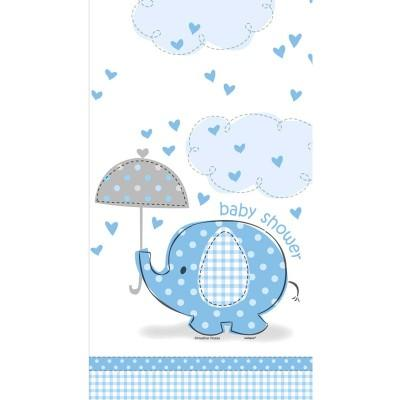 Umbrellaphant Blue Printed Tablecover