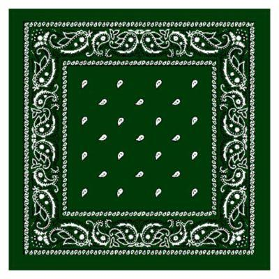 Green Single Bandanna