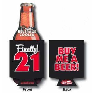 21St Birthday Can Cooler Buy Me Beer