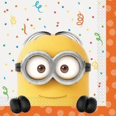 Despicable Me Luncheon Napkins - 16 Pack