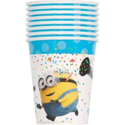 Despicable Me 9oz Cup - 8 Pack