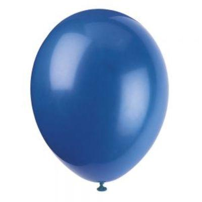 Blue Evening Latex Balloons 12