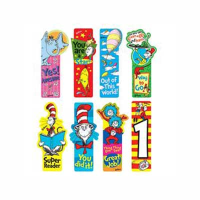 Dr Seuss Bookmarks - 50 Pack