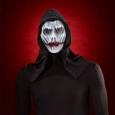 Hooded Ghost Adult Mask
