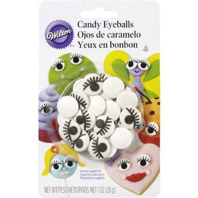 Candy Eyeballs W/lashes 1Oz