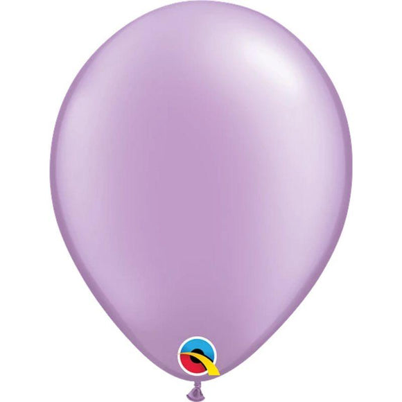 Pearl Lavender Single Latex Balloon 11
