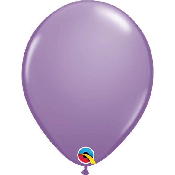 Solid Lilac Single Latex Balloon 11