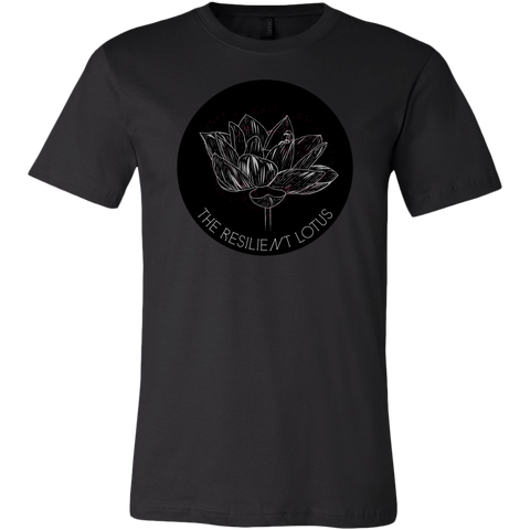 The Resilient Lotus Logo Tee