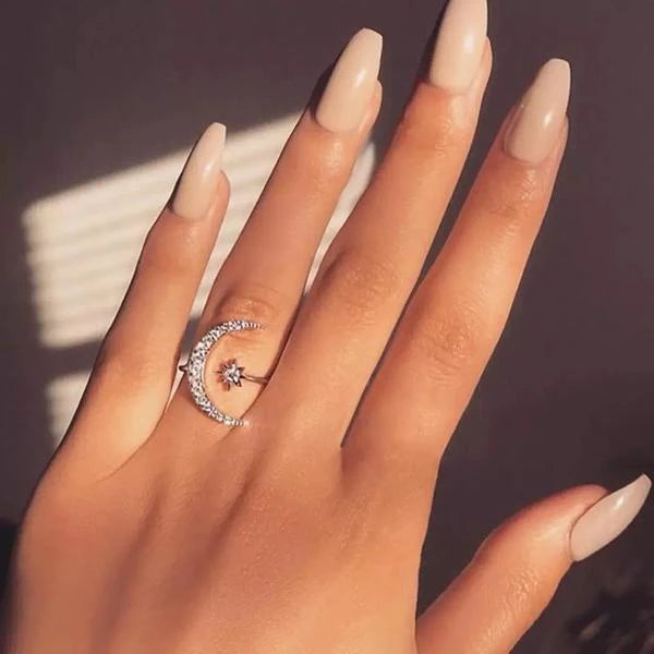 Crescent Moon Ring