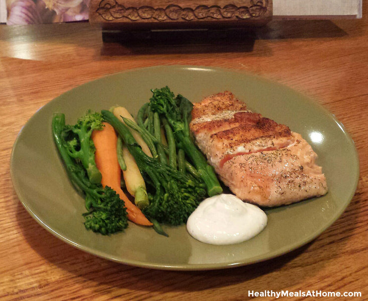 Quick and Easy to Make Salmon Dinner!
