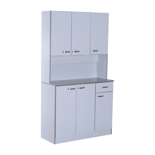 | Kitchen Server and Storage | Server and Storage | kitchen sideboard | kitchen cabinet | kitchen buffet storage | kitchen appliance storage | kitchen appliance garage | Home | HOMCOM |